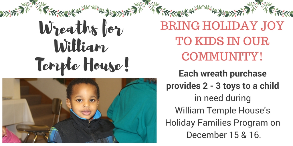Wreaths for William Temple House